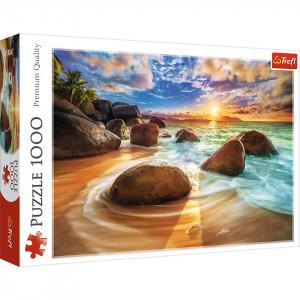 Puzzle Trefl 1000piese - Plaja Samudra India