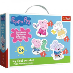 Puzzle Trefl Baby 4in1,Peppa Pig
