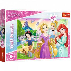 Puzzle Trefl Disney Princess, Visul de a fi printesa 100 piese