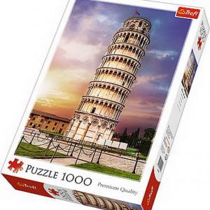Puzzle Trefl, Turnul din Pisa, 1000 piese