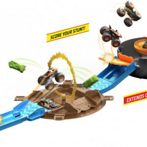 Set de Joaca Hot Wheels-Monster Trucks Stunt Tire