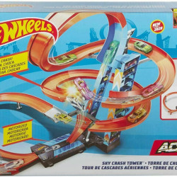 Set de Joaca Hot Wheels - Sky Crash Tower Car