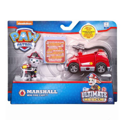 Set figurina cu vehicul Paw Patrol - Ultimate Rescue Marshall