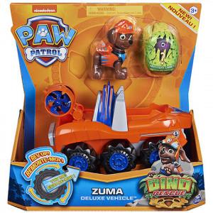 Set Figurina cu Vehicul,Paw Patrol,Zuma,Dino Rescue
