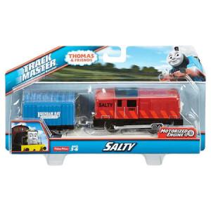 Trenulet Salty Locomotiva Motorizata cu Vagon Thomas&Friends Track Master