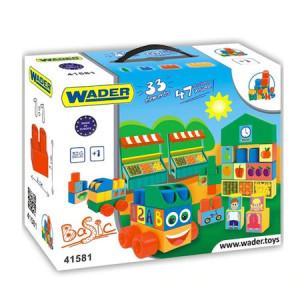 Cuburi pentru constructie 33 bucati Wader