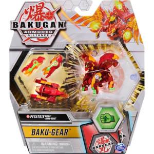 Figurina Bakugan Armored Alliance - Ultra Pegatrix, Rosu