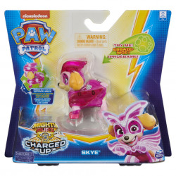 Figurina luminoasa Paw Patrol - Charged Up, Skye