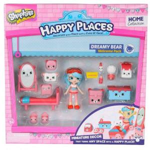 Happy Places S1 - Kit-ul de bun-venit PACK DREAMY BEAR