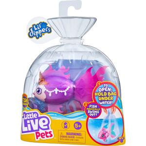Little Live Pets Seaqueen, pestisorul care inoata - seria 2, 11 cm