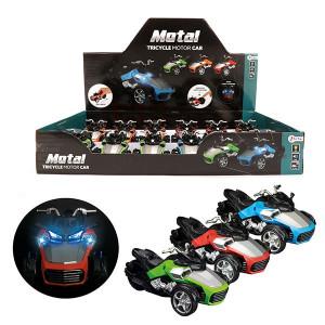Motocicleta Metal Toi Toys cu Lumini si Sunete