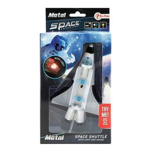 Naveta Spatiala Metalica Toi-Toys cu Lumini si Sunete