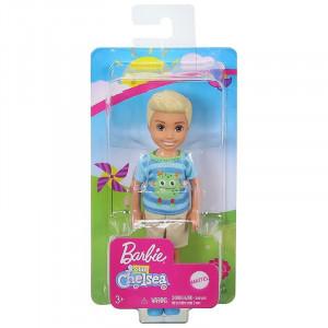 Papusa Barbie Chelsea Baiat Blond 14 cm