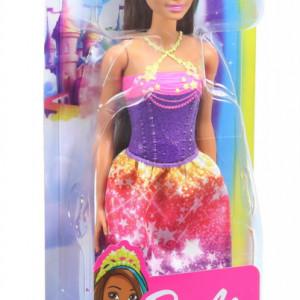 Papusa Barbie Dreamtopia - Printesa cu coronita galbena