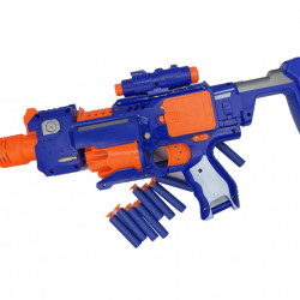 Pusca Super Gun Electrica cu Gloante de Spuma Incluse