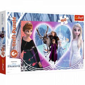 Puzzle Trefl 160piese - Frozen2 Momente Vesele