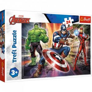 Puzzle Trefl 24 Maxi Eroi Avengers - TREFL 24M Multicolor