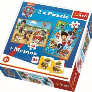 Puzzle Trefl 2in1 Memo - Paw Patrol