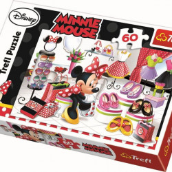 PUZZLE TREFL 60 MINNIE LA SHOPPING