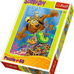 Puzzle Trefl, Scufundari cu Scooby Doo, 60 piese