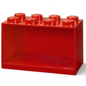 Raft Caramida LEGO 2x4 - Rosu