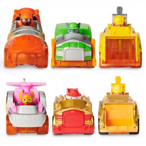 Set 6 Masinute Metalice Paw Patrol Spark Edition