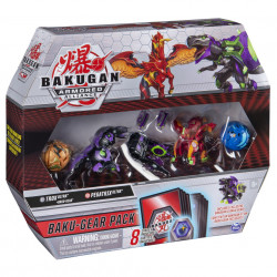 Set Bakugan Armored Alliance Baku-Gear - Pegatrix si Trox