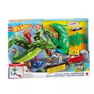 Set de Joaca Hot Wheels - Atacul Dragonului