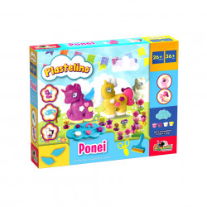 Set de joaca Plastelino, Ponei