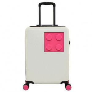 Troller LEGO Urban 20'' - Alb/Roz