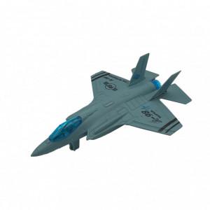 Avion de Vanatoare Toi-Toys,cu Frictiune,22 cm