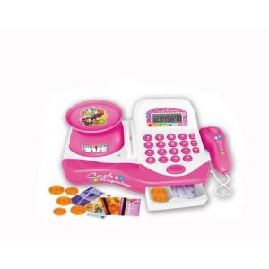 Casa De Marcat Electronica, pentru copii cu Scaner ,Calculator, Bani,Cantar,Lumini si Sunete
