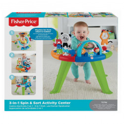Centru de activitati Fisher Price - 3 in 1 Spin & Sort