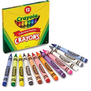 Creioane Cerate Crayola,12 culori