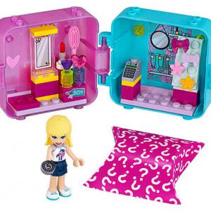 Cubul de joaca de cumparaturi al Stephaniei