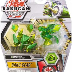 Figurina Bakugan S2 Bila Ultra Batrix Cu Echipament Baku-Gear