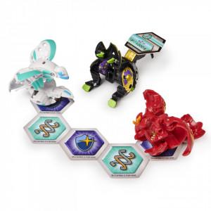 Figurine Bakugan Armored Alliance,Hydorous Trhyno ultra,Barbetra si Auxillataur