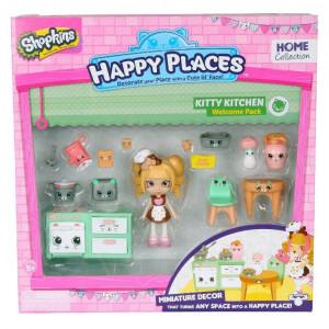 Happy Places S1 - Kit-ul de bun-venit PACK KITTY KITCHEN