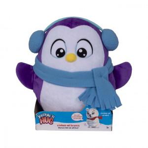 Jucarie de plus interactiva Noriel- Snuggle and Hug - Pinguin