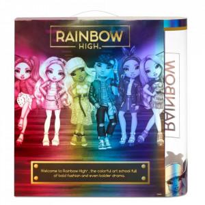 Papusa Rainbow Surprise, Rainbow High - Bella Parker