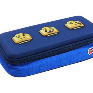 Penar neechipat 3D LEGO Faces - Albastru