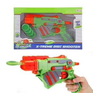 Pistol Toi-Toys cu gloante discuri de spuma