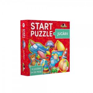 Puzzle 4 in 1, Jucarii, Noriel, 24 piese
