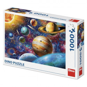 Puzzle Dino 1000 piese - Planetele Sistemului Solar