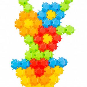 Puzzle Mozaic Tigres- 60 piese
