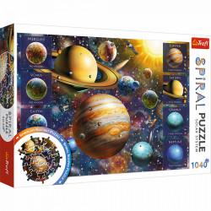Puzzle Spiral Trefl 1040piese - Sistemul Solar