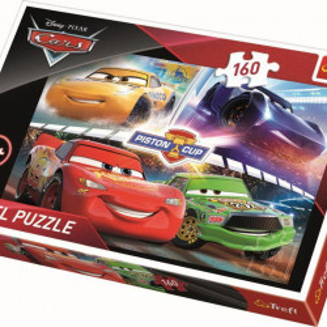 Puzzle Trefl, Disney Cars, Cursa castigatoare, 160 piese