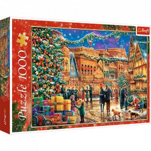 Puzzle Trefl - Piata de Craciun, 1000 piese