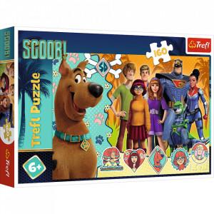 Puzzle Trefl Scooby Doo In Actiune, 160 piese,