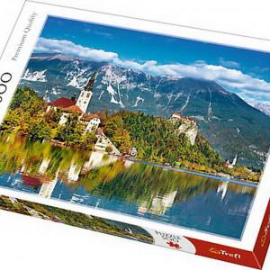 Puzzle Trefl, Slovenia, 500 piese